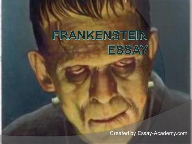 Frankenstein paper topics