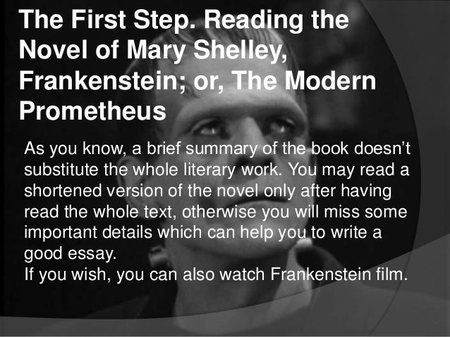 frankenstein villain essay Victor frankenstein the villain sign up to view the whole essay and download the pdf for anytime access on your computer, tablet or smartphone.