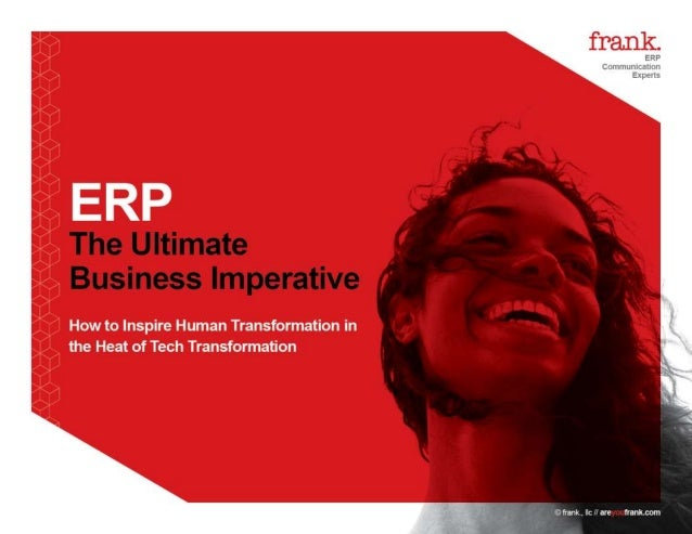 frank ERP transformation