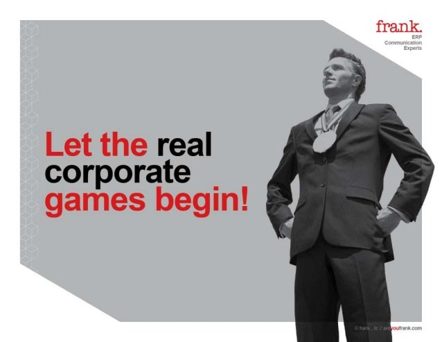 Let the real corporate games begin!