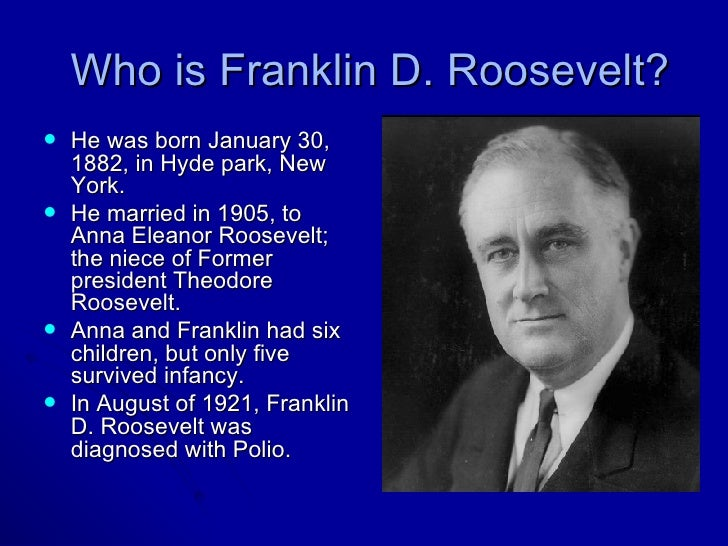 a study of the life of franklin delano roosevelt It was the worst of times when franklin delano roosevelt assumed the  franklin d roosevelt, his life and  is the leading study of new deal.