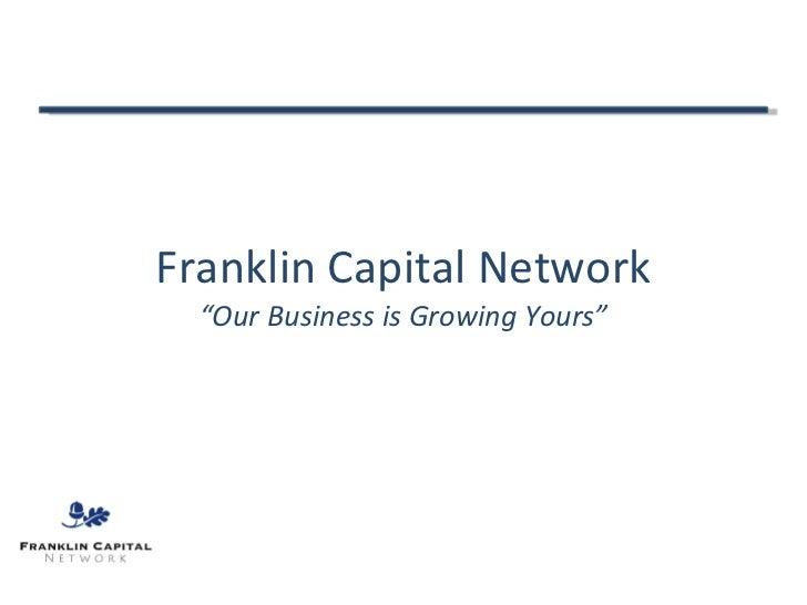 Franklin Capital Presentation