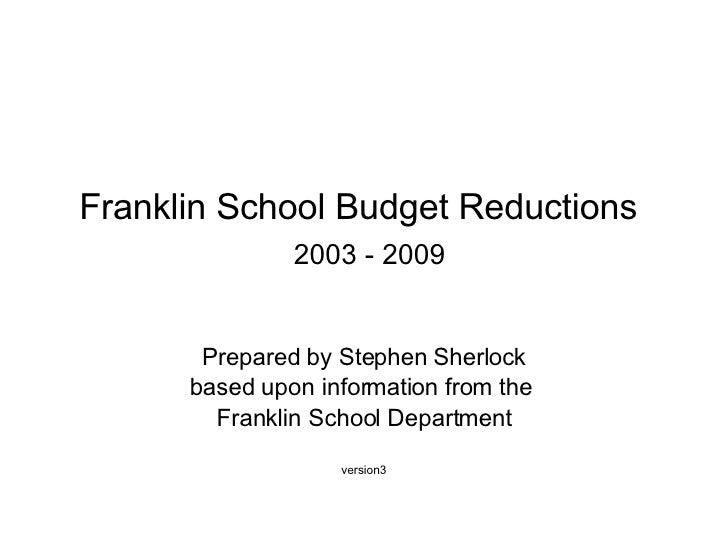 Franklin MA School Budget Reductions_v3