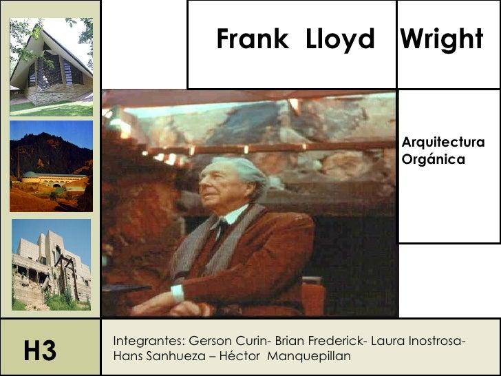 Frank Lloyd Wright                                                      Arquitectura                                      ...
