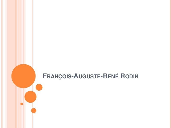 François auguste-rené rodin