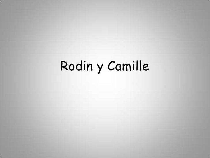 Rodin y Camille<br />