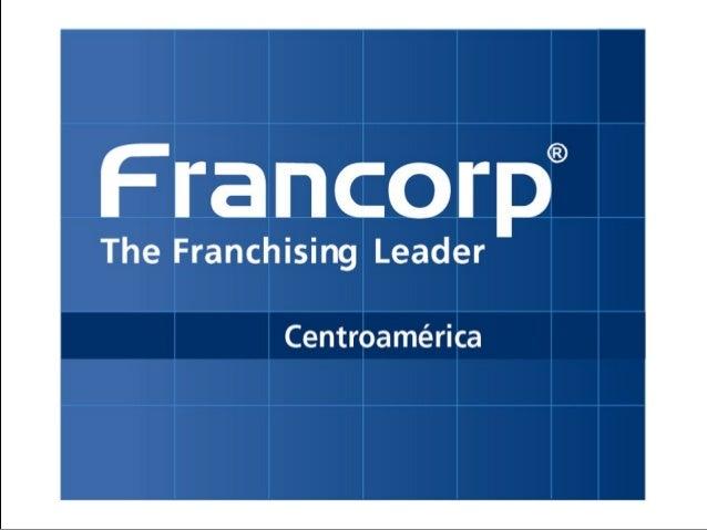 Presentación: Franquicie su negocio
