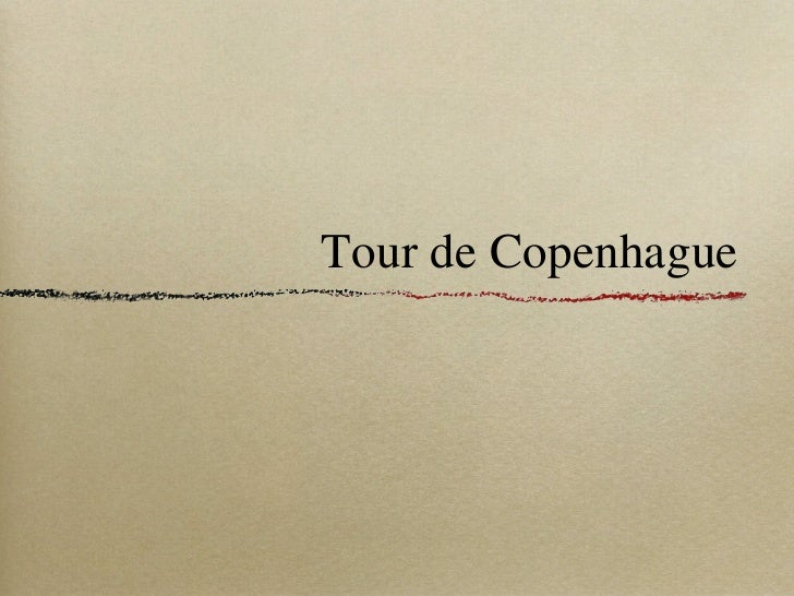 Tour de Copenhague