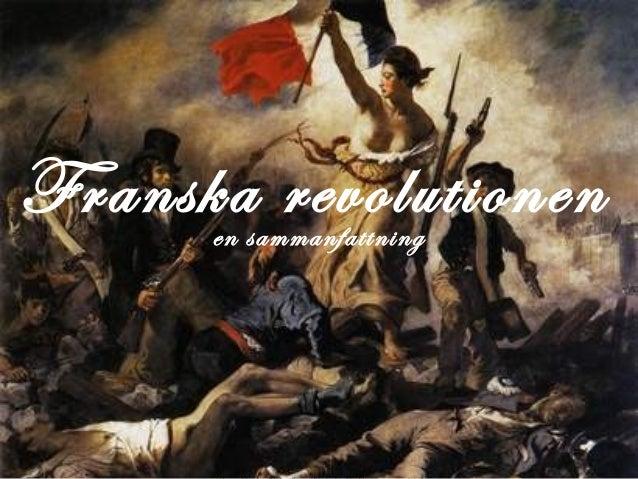 Franska revolutionenen sammanfattning