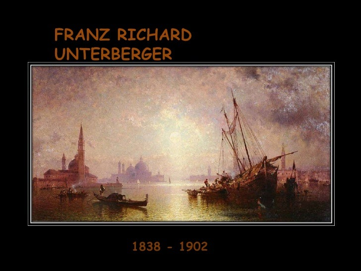 Franz Richard Unterberger 1838 - 1902