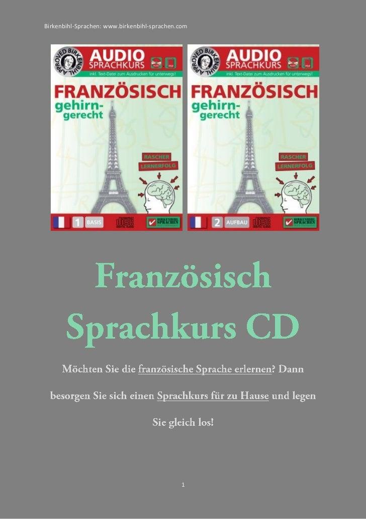 Birkenbihl-Sprachen: www.birkenbihl-sprachen.com                                             1