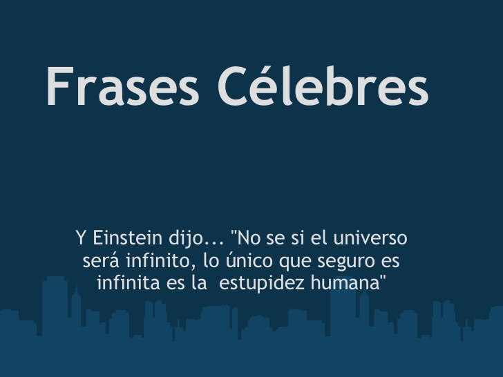 Frases Celebres 1
