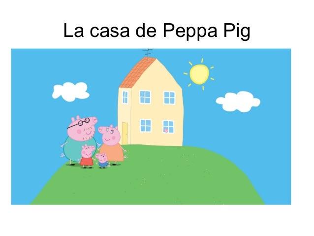 Dibujo de la casa de peppa pig dibujos para colorear frases con peppa pig - Peppa pig la casa del arbol ...