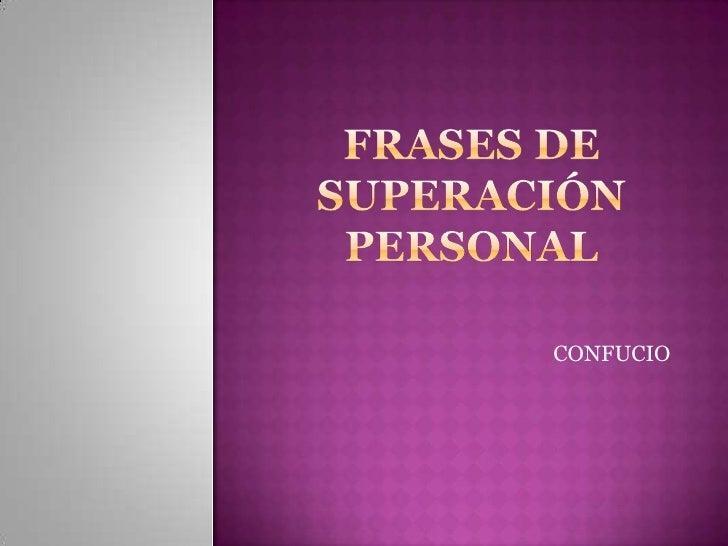 Superación, Superación Personal y Frases de Motivación