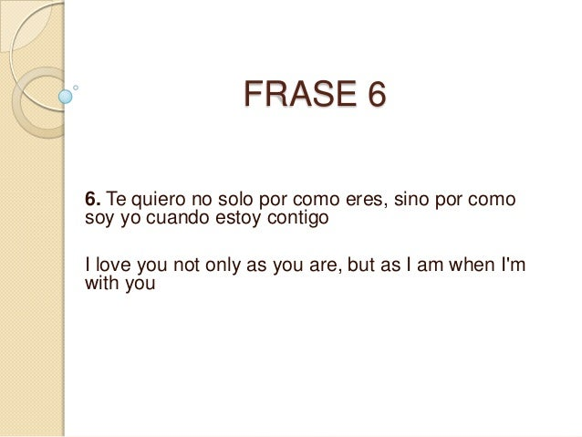 Frases en ingles traducidas a espa ol for En ingles frases