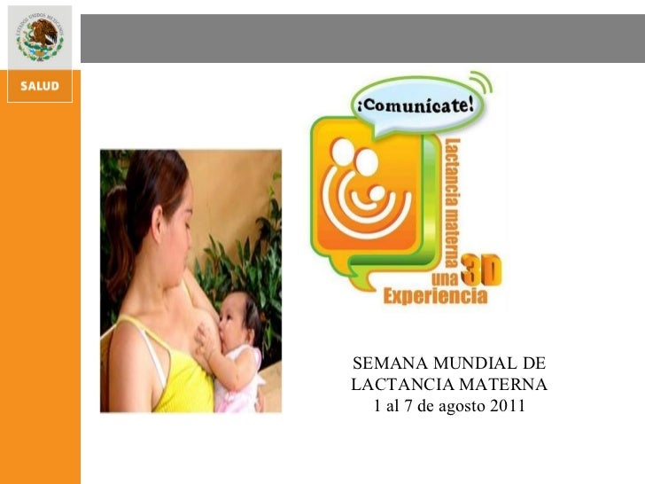 Frases Semana Mundial de Lactancia Materna