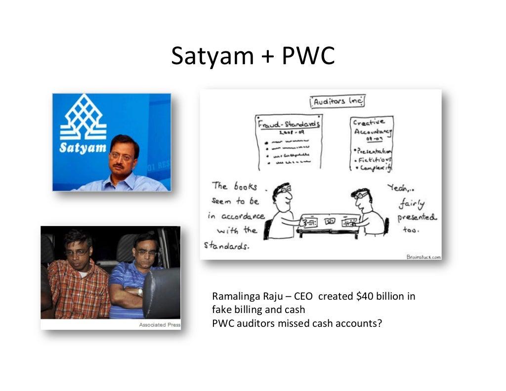 The satyam scandal case study