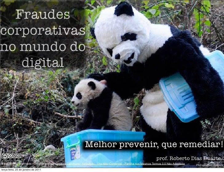 Fraudes Corporativas no Mundo Digital - impactos do SPED
