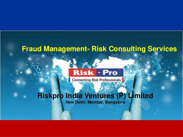 Fraud Risk  Services Brochure