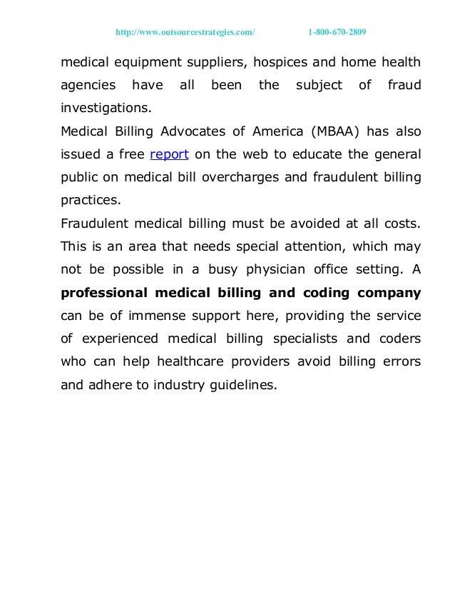 Fraudulent medical billing?