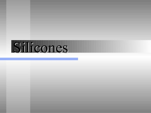 Frausto silicones