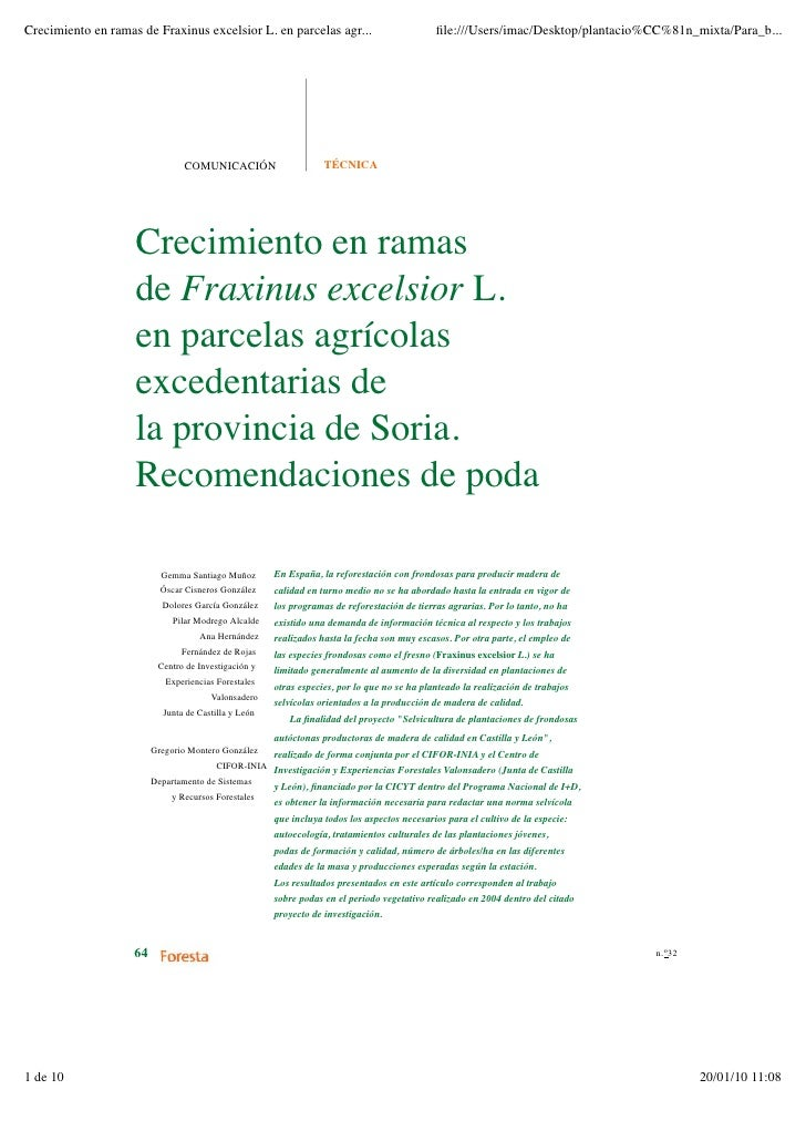 Fraxinus Poda