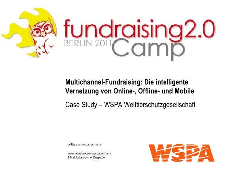 Multichannel-Fundraising: Die intelligente Vernetzung von Online-, Offline- und Mobile Case Study – WSPA Welttierschutzges...