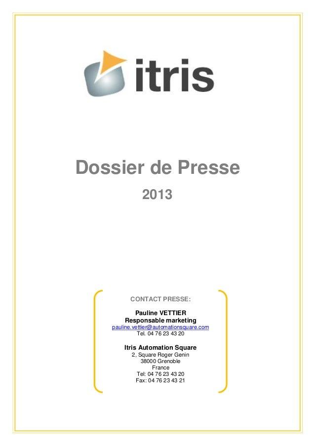 [FR] Dossier de presse IAS