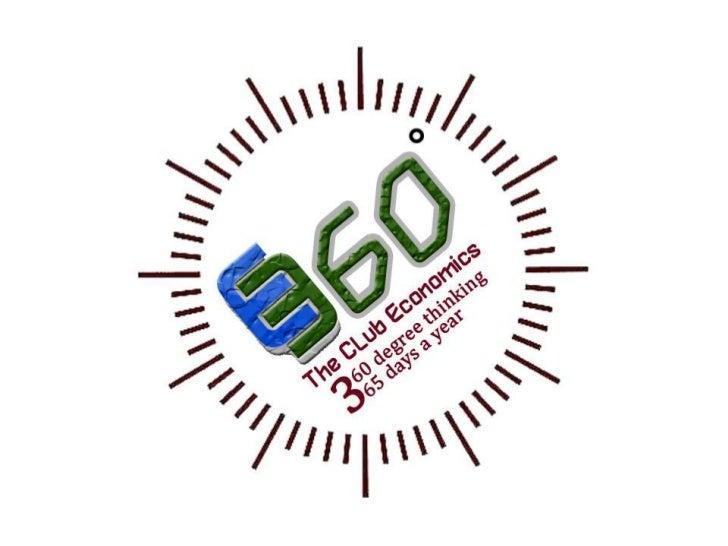 About E-360, The Club Economics