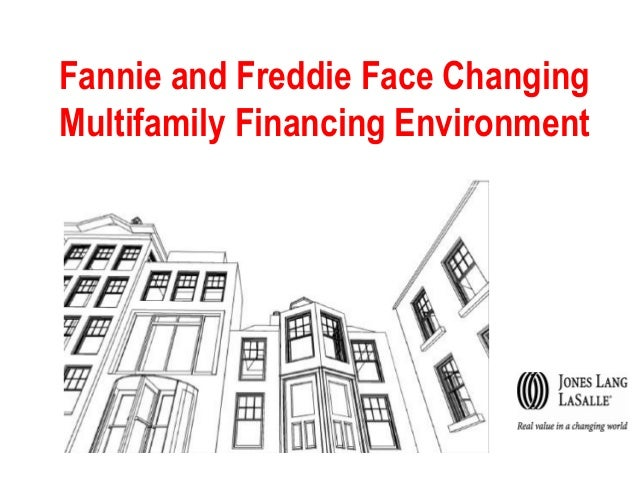 Fannie and Freddie Face Changing Multifamily Financing Environment