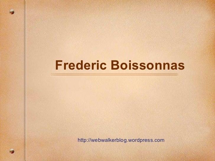 Frederic boissonnas