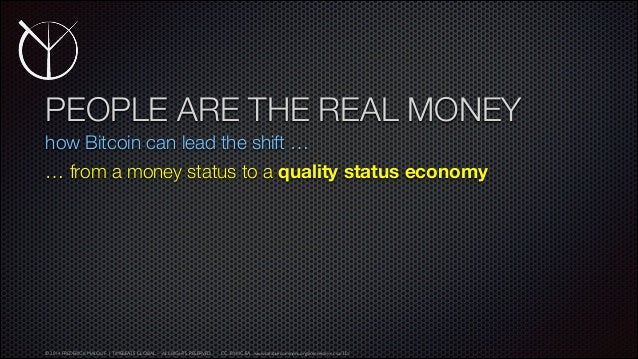 People Are the Real Money - Frederick Malouf (Timebeats Global)
