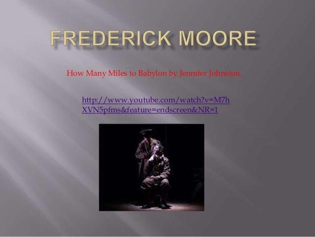 Frederick moore
