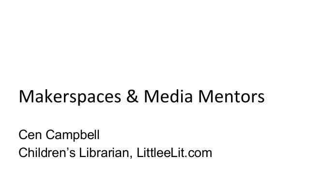 Cen Campbell Children's Librarian, LittleeLit.com