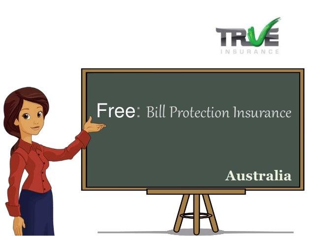 Free: Bill Protection Insurance Australia