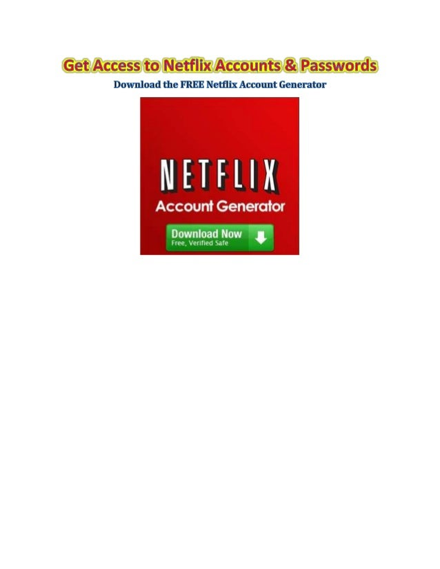 how to create a free netflix account