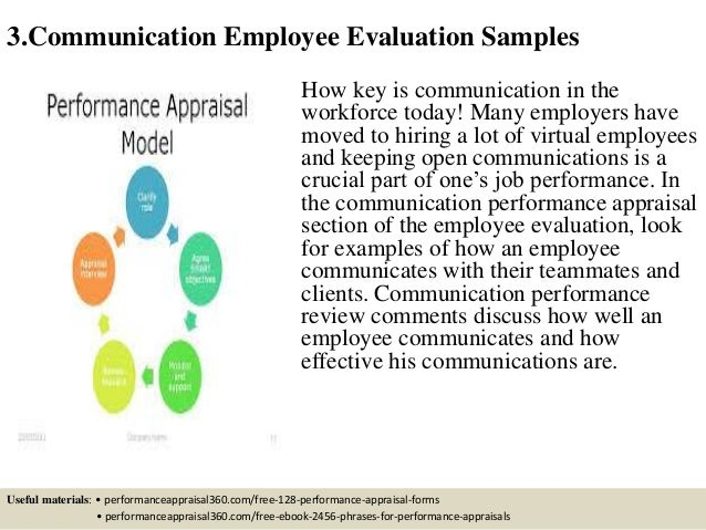 effective communication and employee performance essay Exists between effective communication and workers' performance, productivity and commitment the study results through managing employee performance.