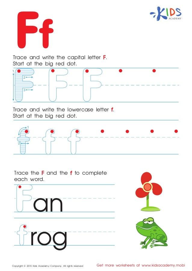 Capital letter worksheets pdf