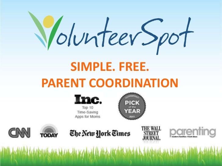 SIMPLE. FREE.PARENT COORDINATION