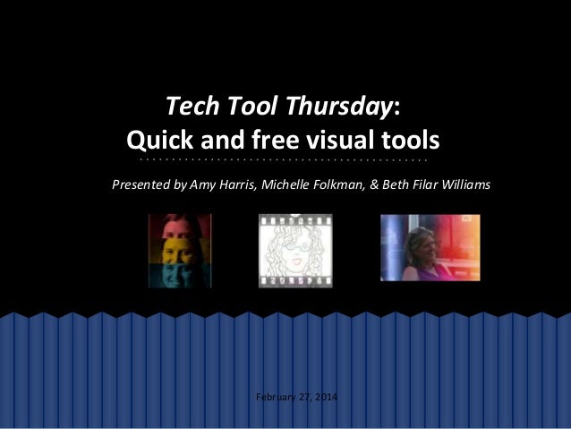 Tech Tool Thursday:   Quick and free visual tools in 30 minutes