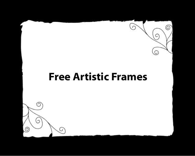Free Artistic Frames