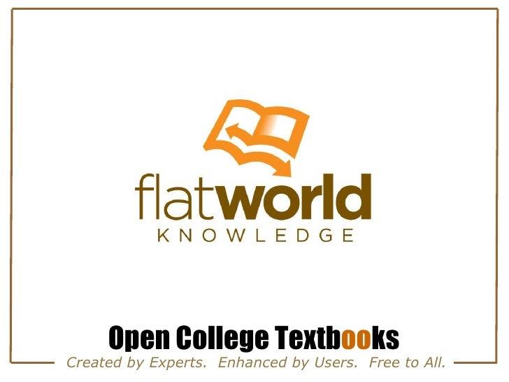 Flatworld Knowledge