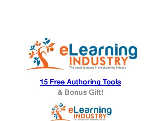 15 Free Authoring Tools     & Bonus Gift!