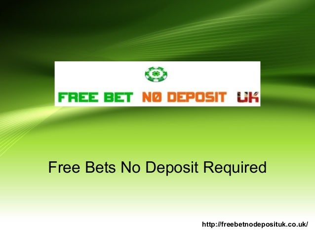 no deposit needed