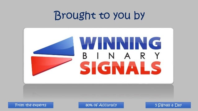 Binary option signals that work