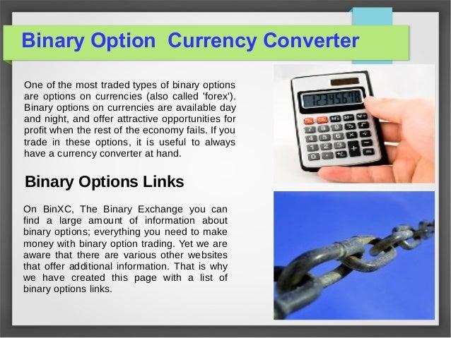 Free binary option tools