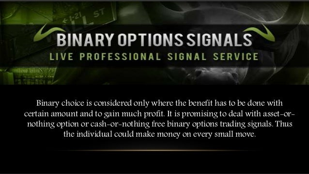 Binary option cash or nothing