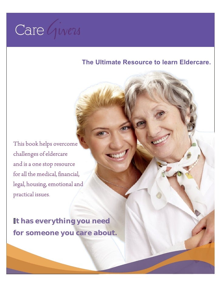 Free caregivers ebook