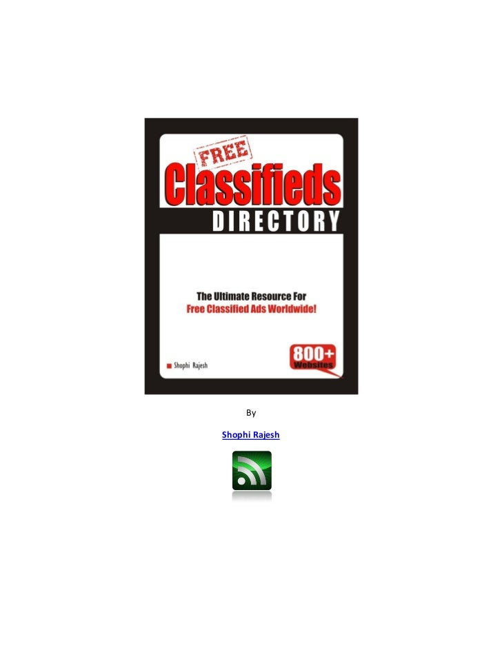 Free classified directory
