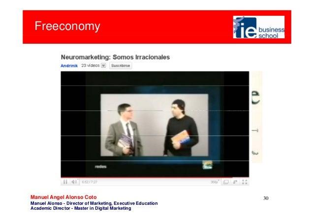Freeconomy30Manuel Angel Alonso CotoManuel Alonso - Director of Marketing, Executive EducationAcademic Director - Master i...